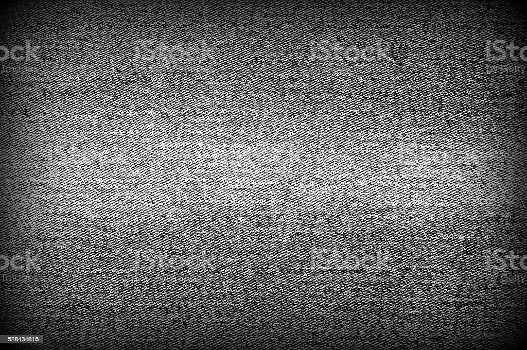 Worn out black denim background stock photo