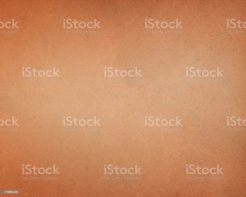 worn paper with corrugated pattern royalty-free stock photo
