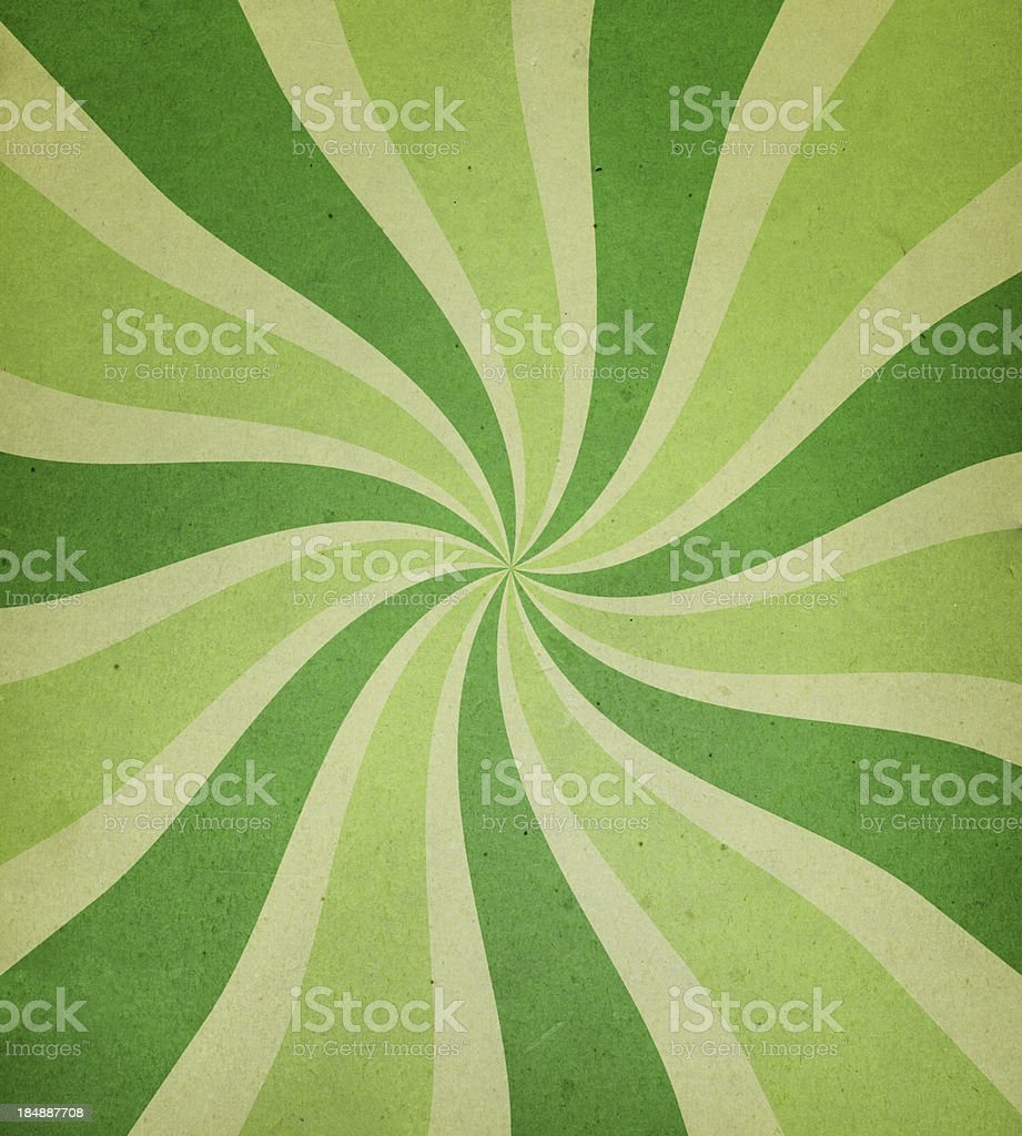 worn paper with spiral ray pattern royalty-free stock vector art