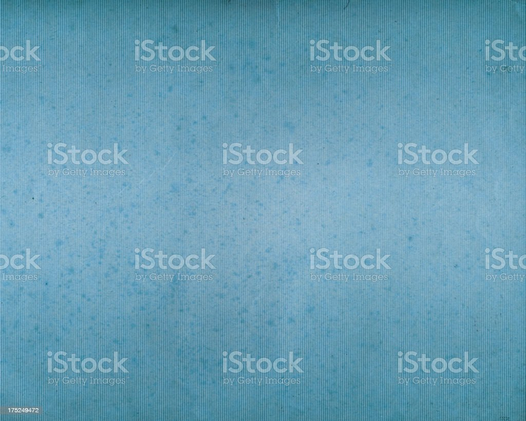 worn ribbed blue paper royalty-free stock photo