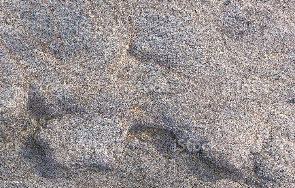 Worn rock surface close view stock photo