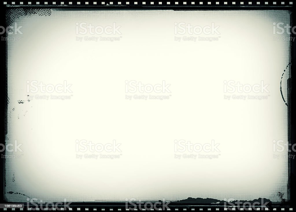 Worn vintage film frame background stock photo