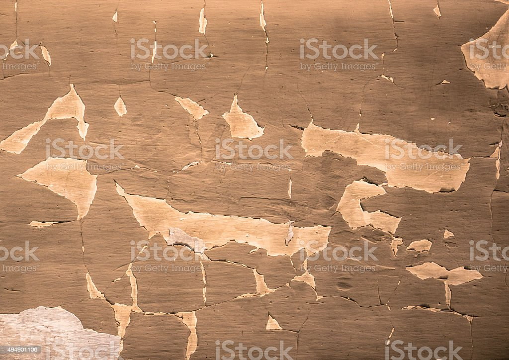 Worn wall paint stock photo