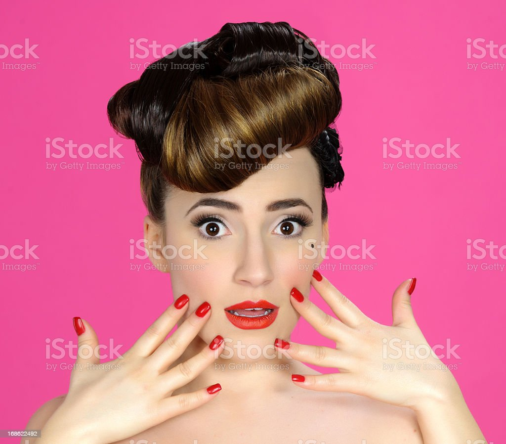 worried expression royalty-free stock photo