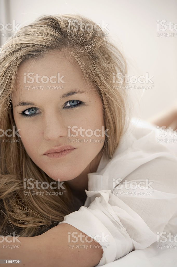 Worried Woman. royalty-free stock photo