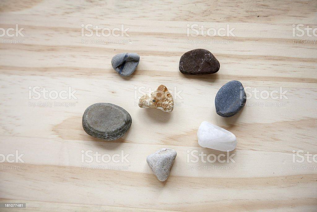 Worry stones royalty-free stock photo