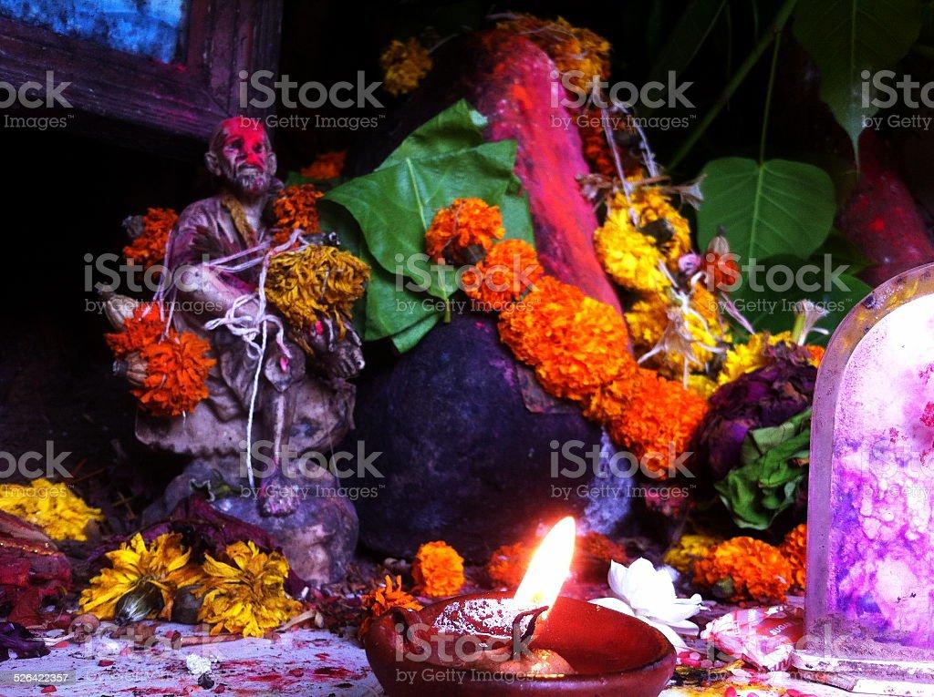 Worship india stock photo
