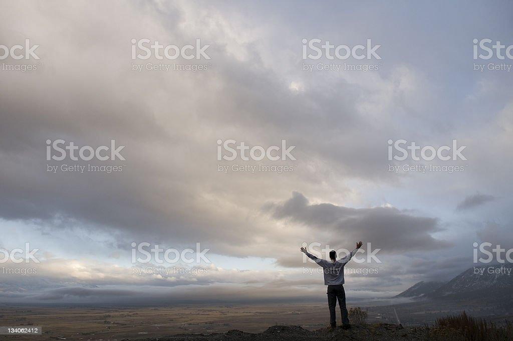 worship stock photo