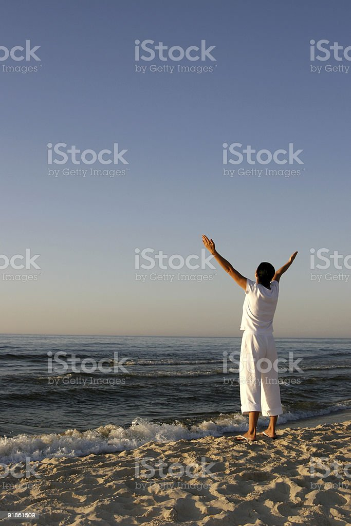 Worship stock photo