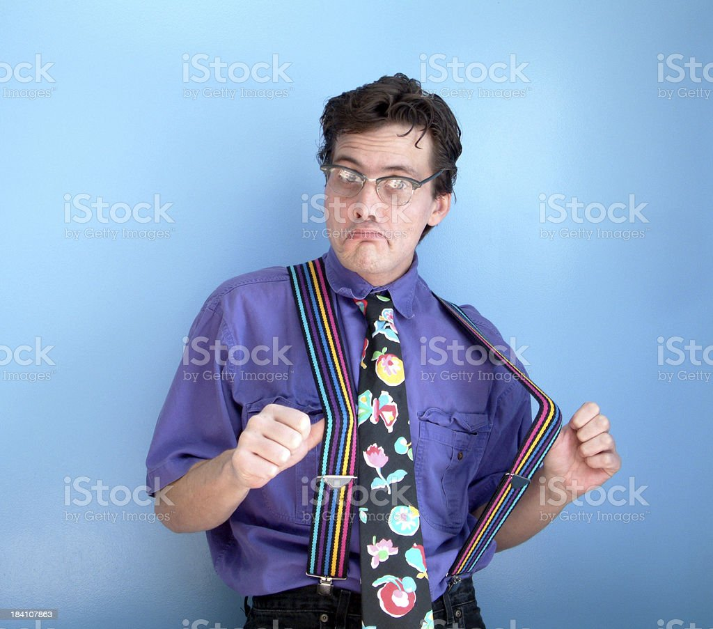 Worst Dressed Man stock photo