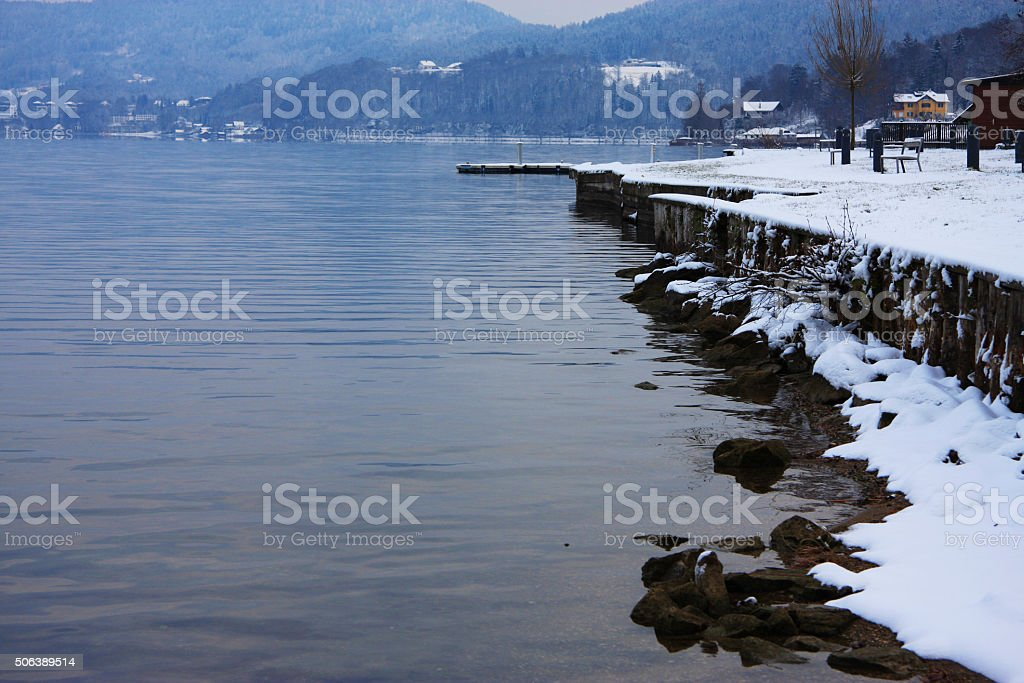 Worther See stock photo