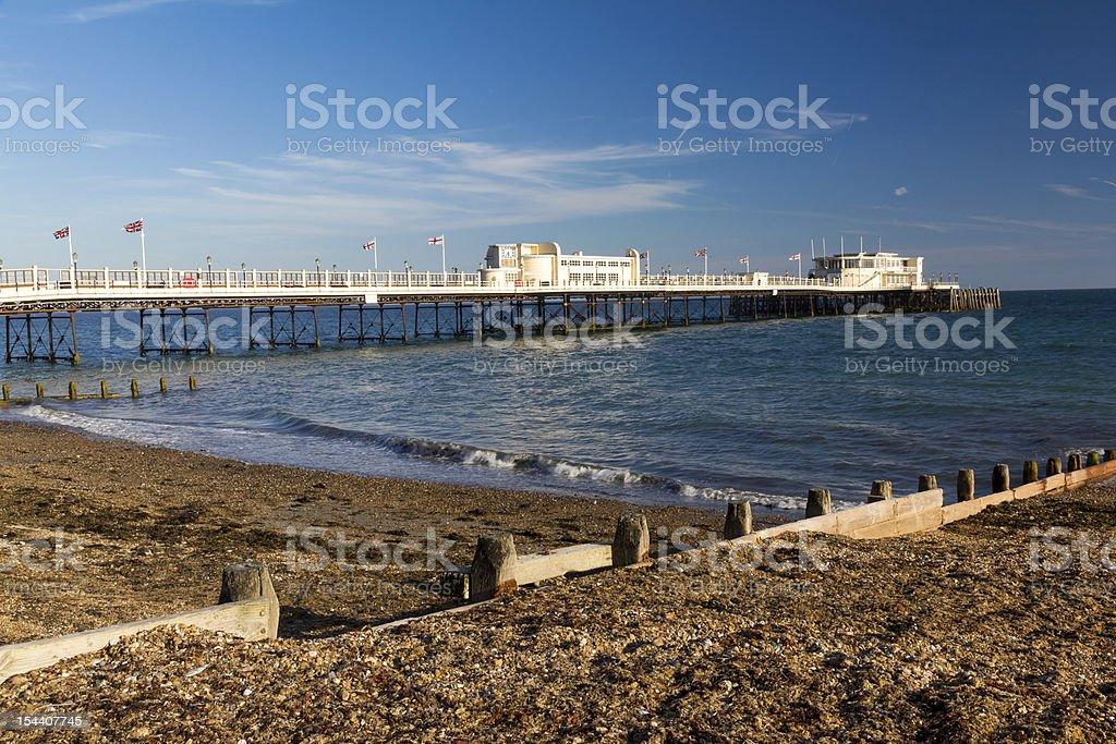 Worthing Pier photo libre de droits