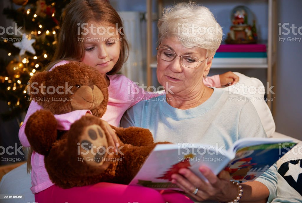 I would like to read a book like my grandmother stock photo