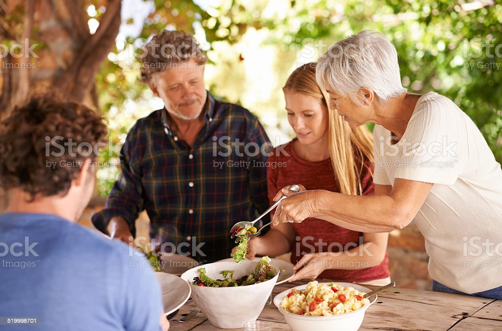 Would you like a little more? stock photo