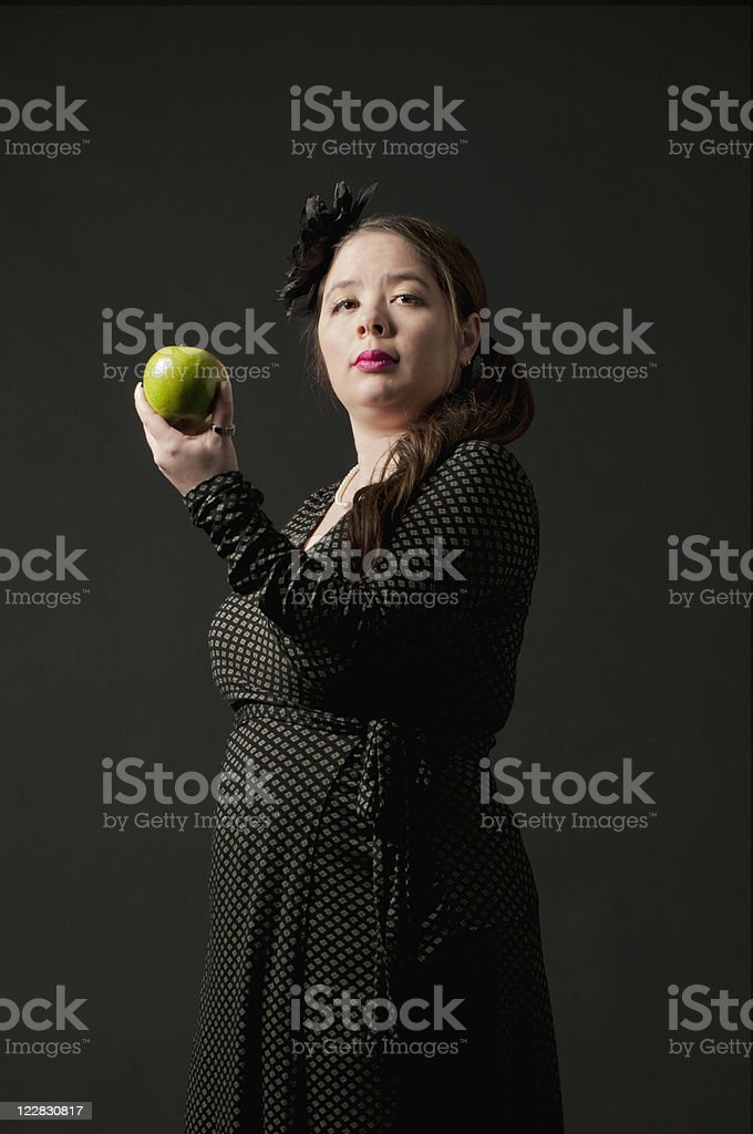 Would You Like An Apple? royalty-free stock photo