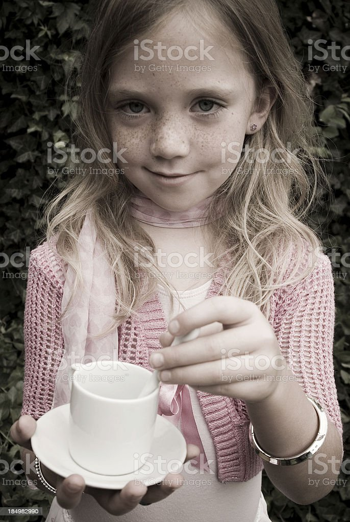 Would you like some tea? royalty-free stock photo