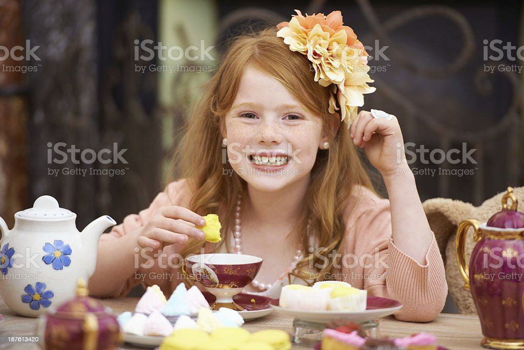 Would you like some tea? stock photo