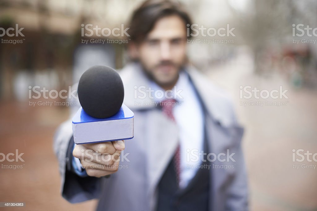 Would you like to comment? stock photo