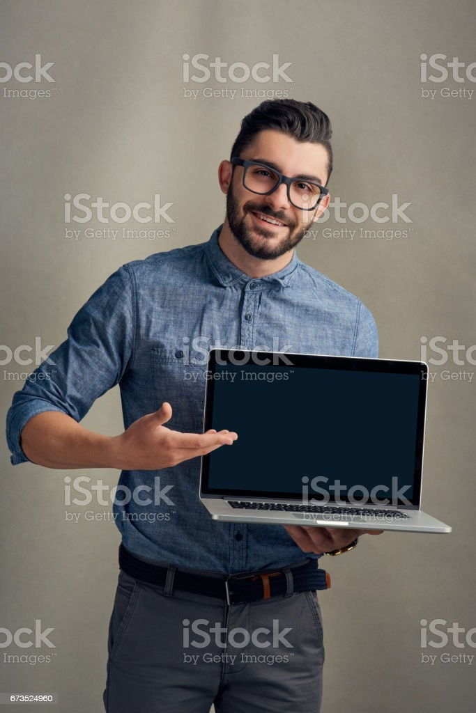 Wouldn't you like to take business even further than before? stock photo