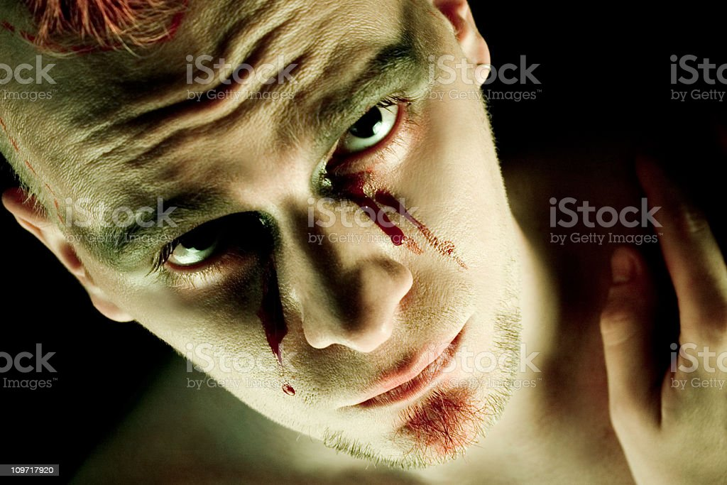 Wounded stock photo