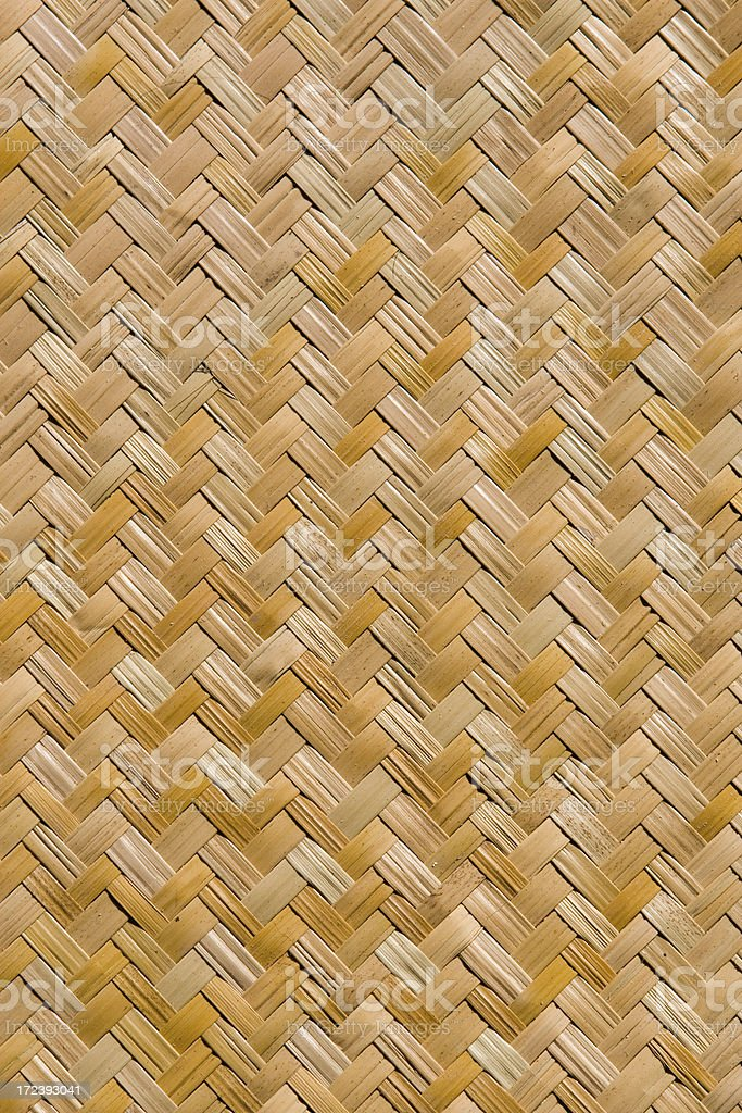 Woven Bamboo royalty-free stock photo