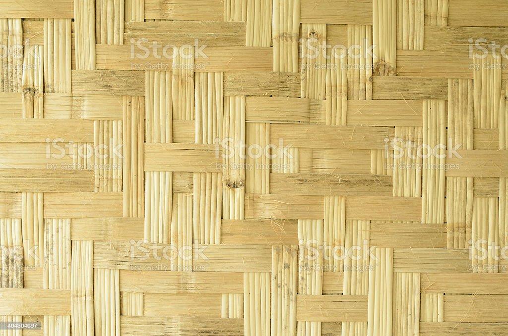 Woven Bamboo royalty-free stock photo