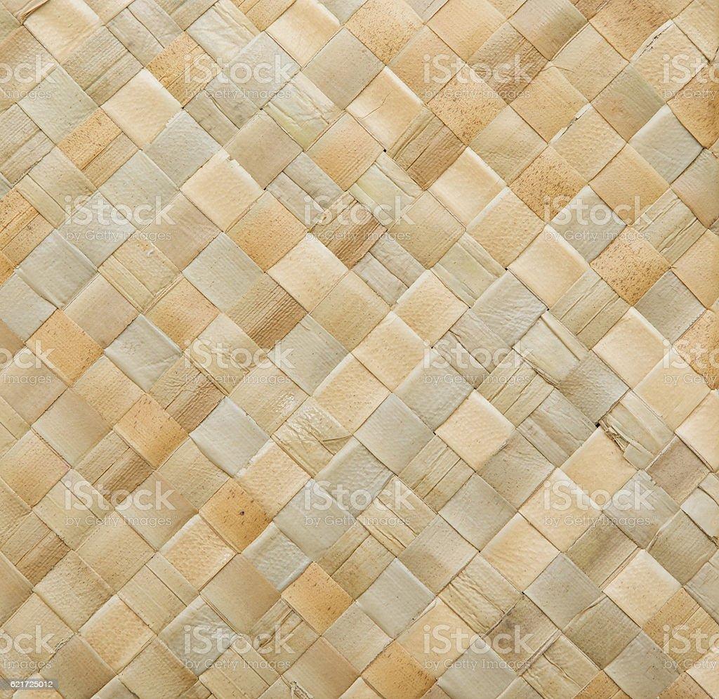 Woven birch surface stock photo