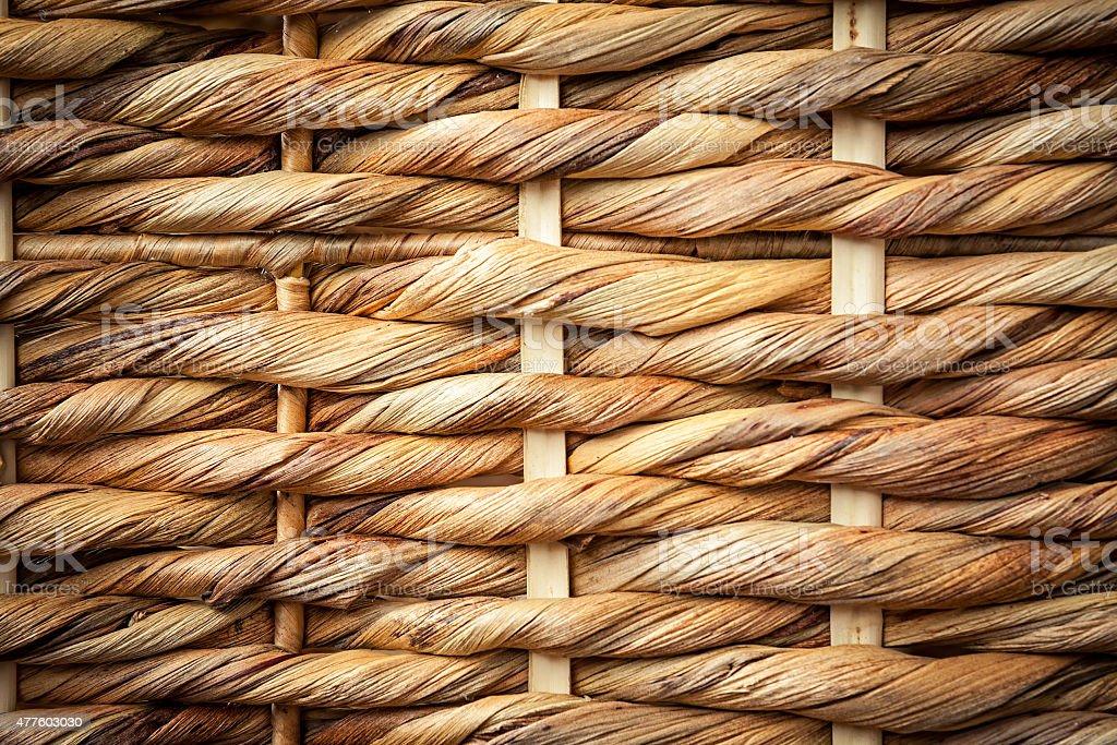 woven cane texture stock photo