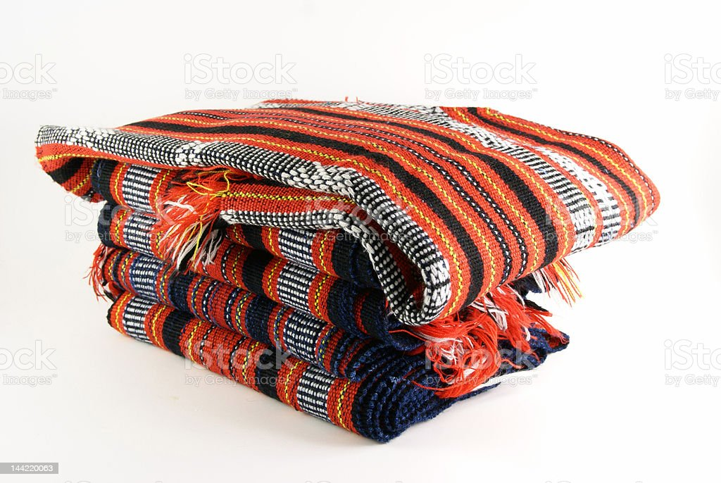 woven cloth royalty-free stock photo
