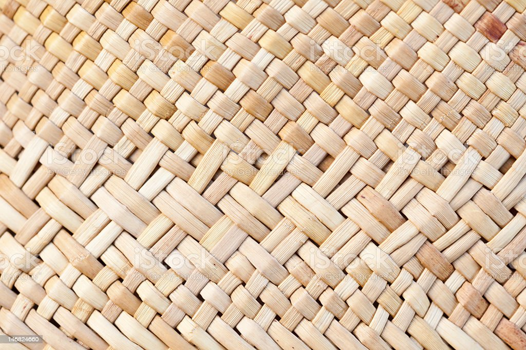 Woven Kite Bag - Texture Background stock photo