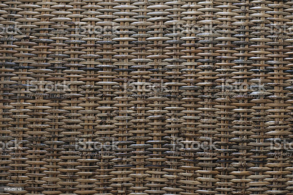 woven mat background. royalty-free stock photo