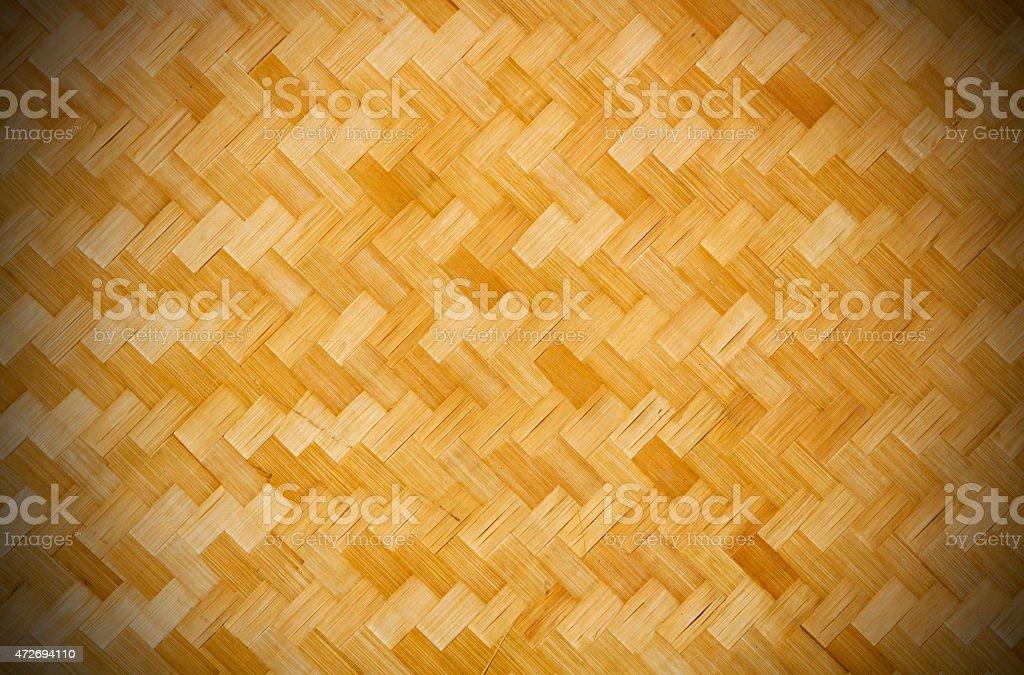 woven mat stock photo