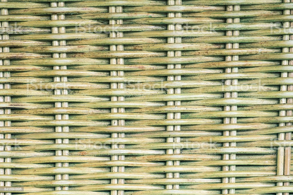 Woven rattan texture background for Vintage wallpaper stock photo