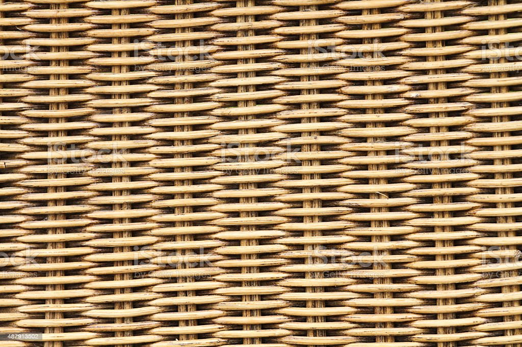 Woven rattan texture backgrounds stock photo