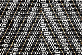 Woven reed pattern background