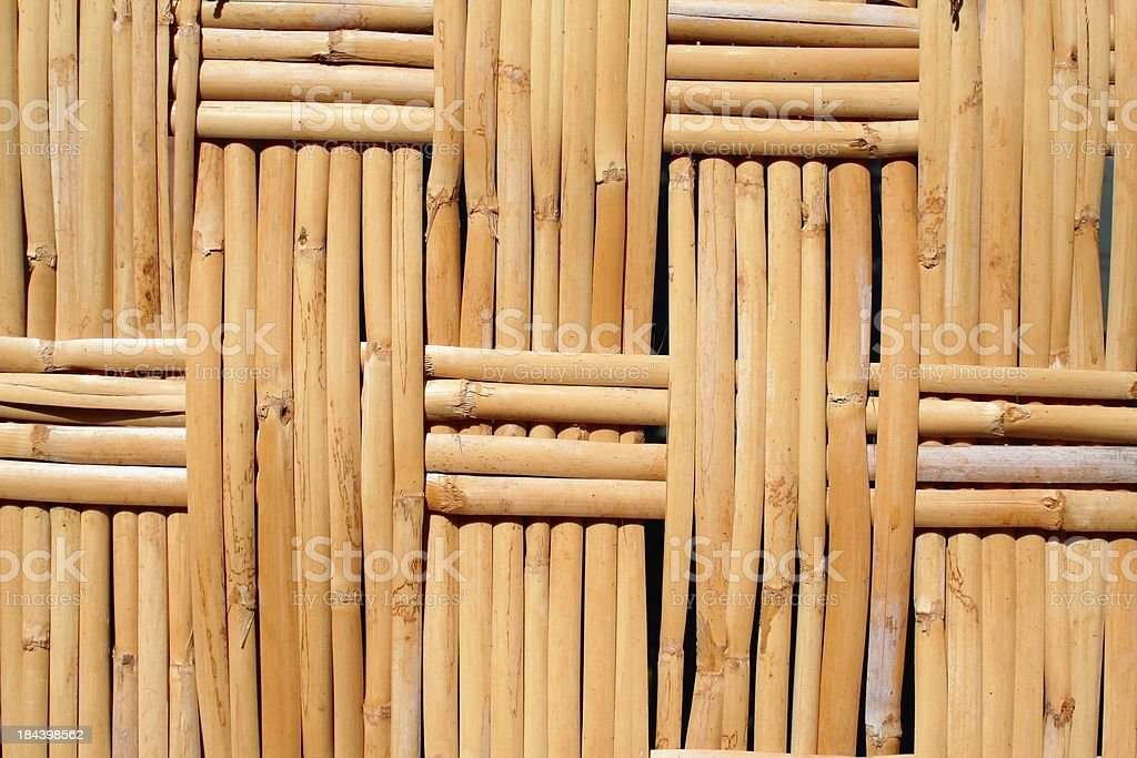 Woven Reeds background. Horizontal. stock photo