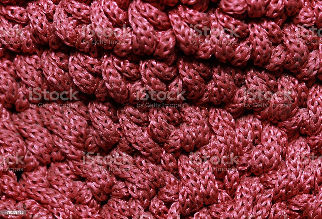 woven rope stock photo