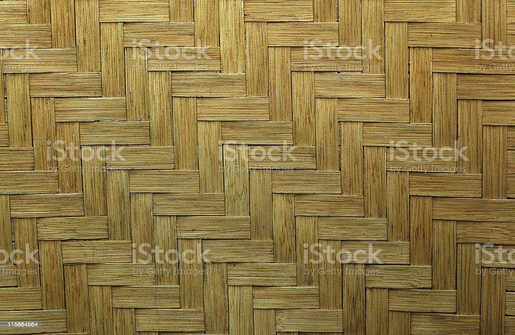 woven split oak royalty-free stock photo