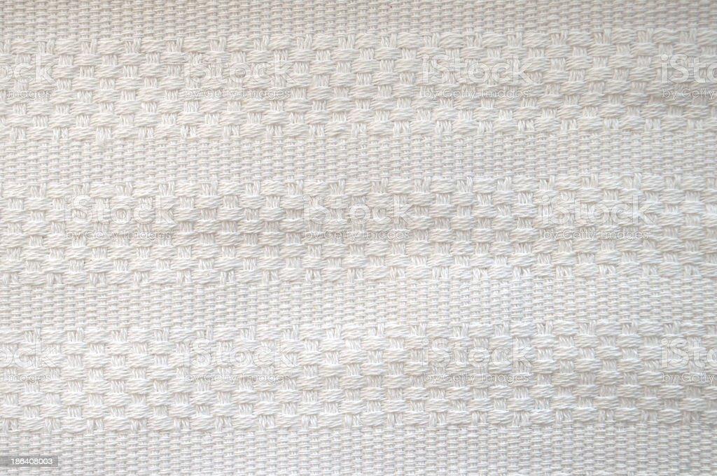 Woven White Cotton royalty-free stock photo