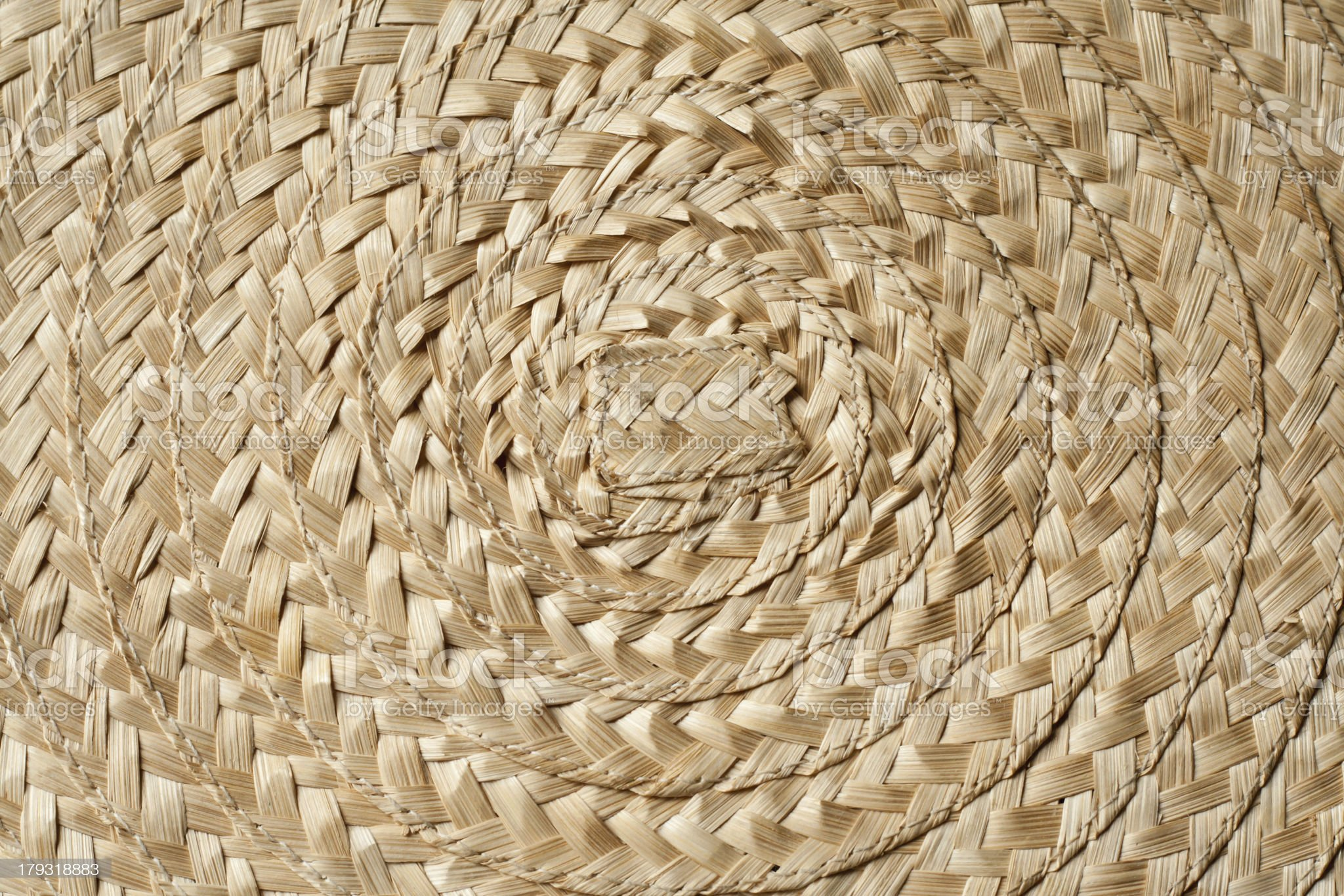 woven wicker royalty-free stock photo