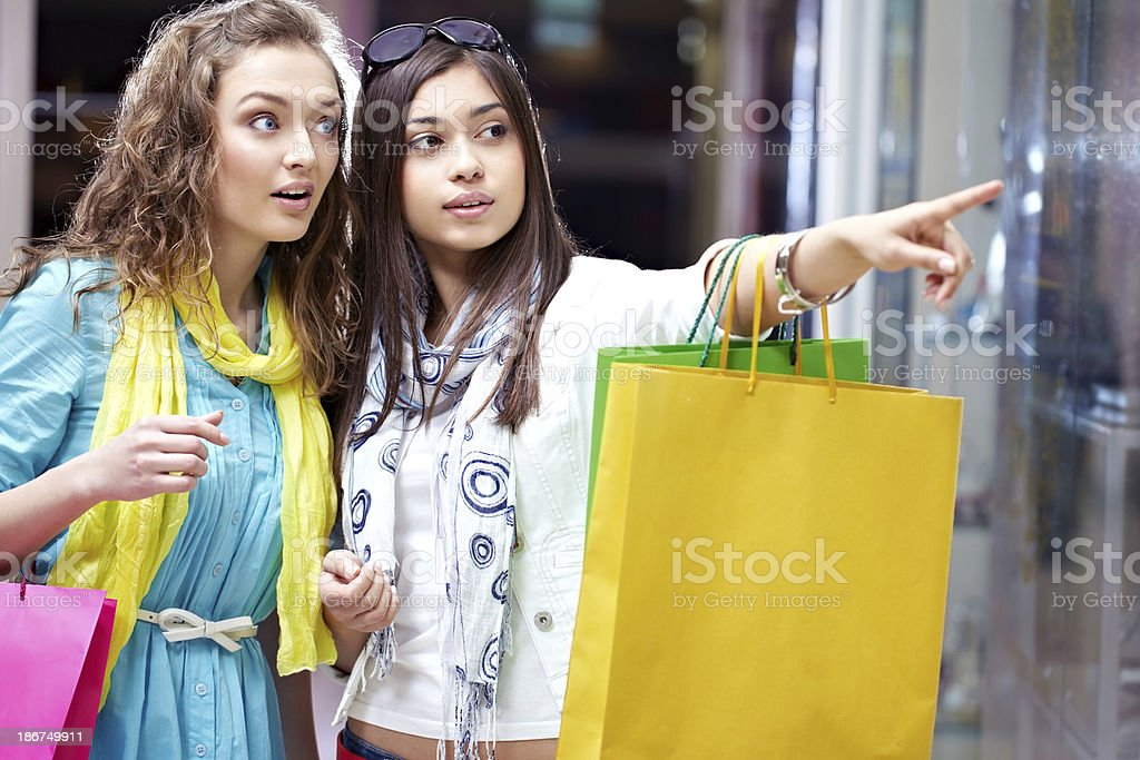 Wow! I must buy it! royalty-free stock photo