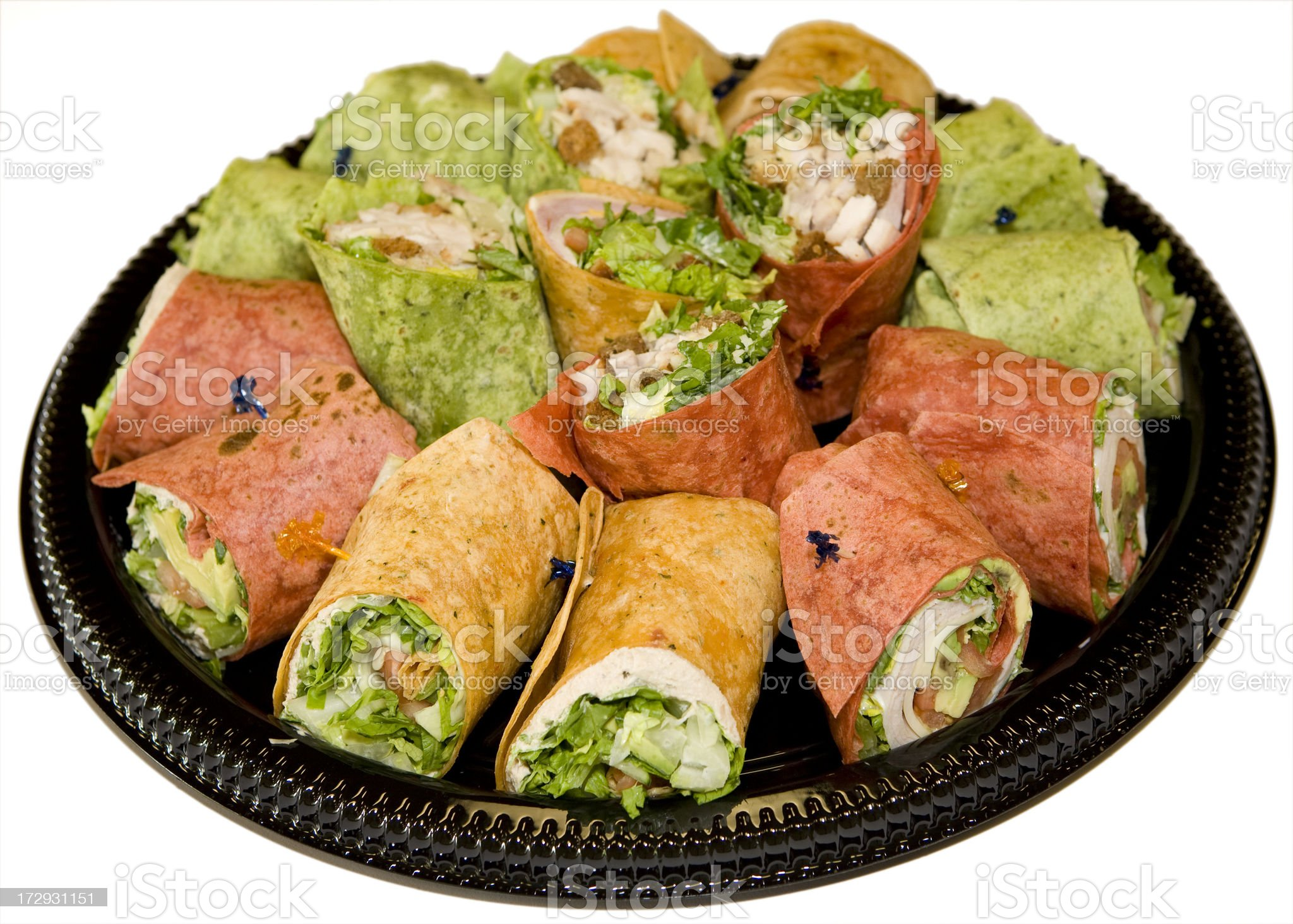 Wrap Sandwiches royalty-free stock photo