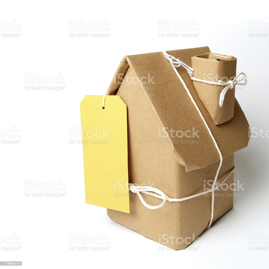 Wrapped up House royalty-free stock photo