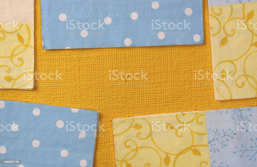 Wrapping paper royalty-free stock photo