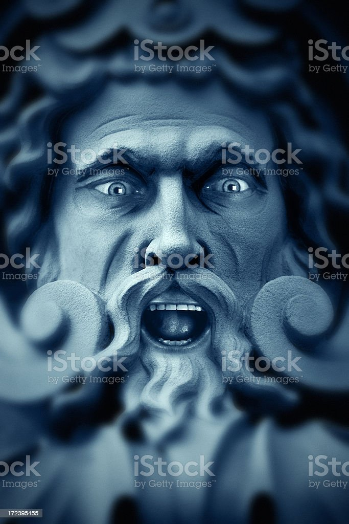 Wrath of the Frost Giant royalty-free stock photo