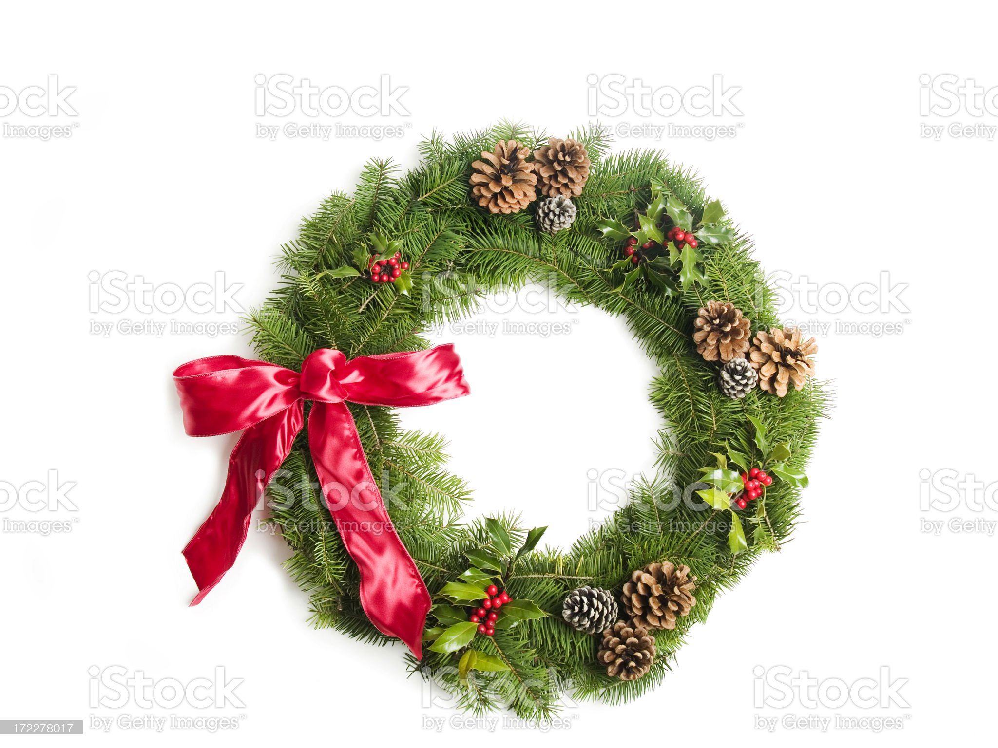 wreath for christmas royalty-free stock photo