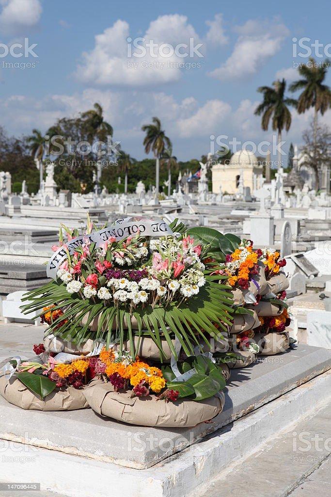 リースでコロン(コランバス)墓地,ハバナ,キューバ ロイヤリティフリーストックフォト