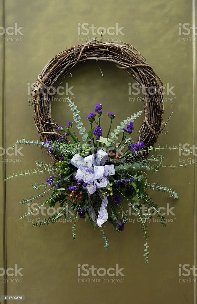 Wreath of Mourning royalty-free stock photo