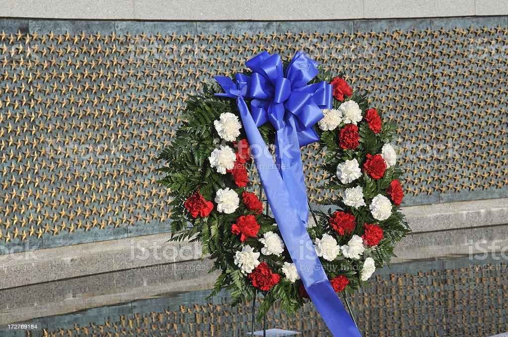 Wreath royalty-free stock photo