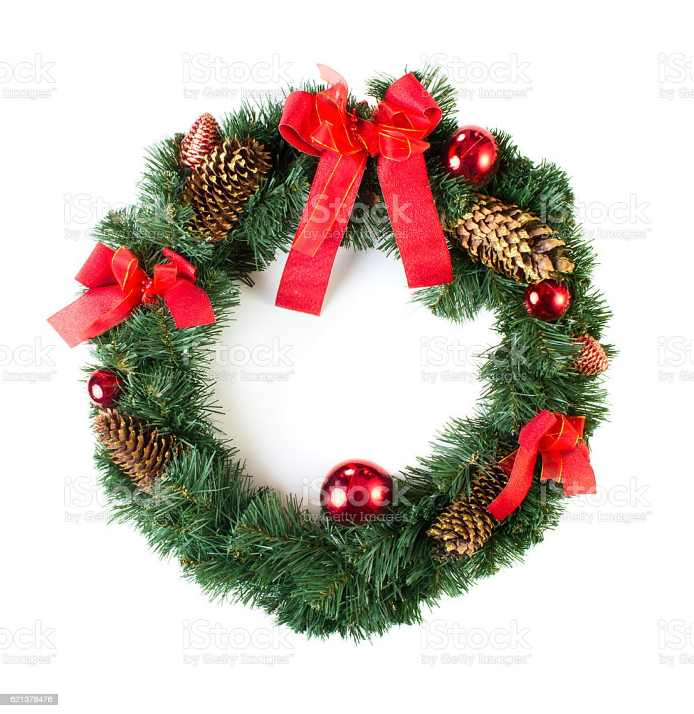 Wreath stock photo